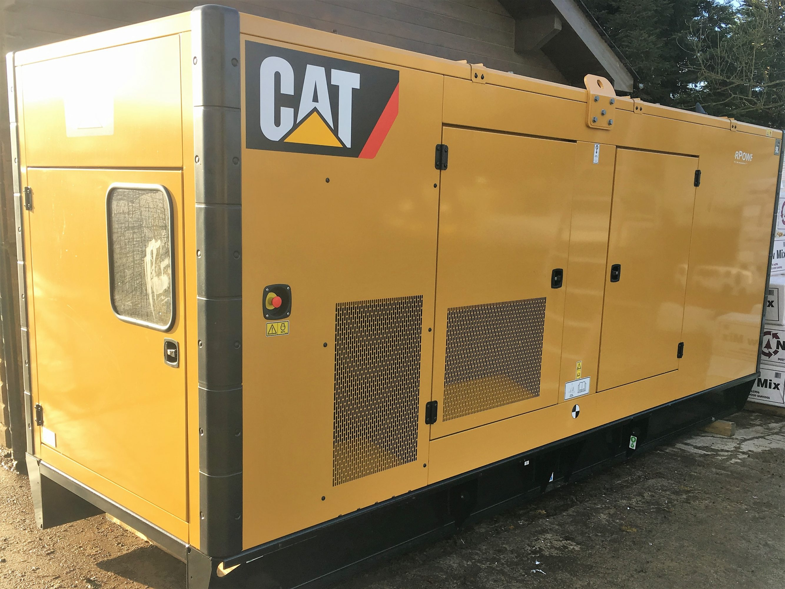Cat 715 Kva C18 Diesel Generator For Sale Uk And Export Sales Bestdieselgeneratorcom